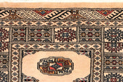 Antique White Bokhara 2' 6 x 9' 6 - No. 45587 - ALRUG Rug Store