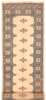 Antique White Butterfly 2' 7 x 10' 1 - No. 45591 - ALRUG Rug Store