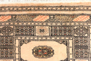 Antique White Bokhara 2' 7 x 10' 3 - No. 45603 - ALRUG Rug Store