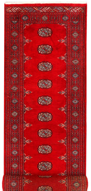 Dark Red Bokhara 2' 8 x 10' 9 - No. 45604 - ALRUG Rug Store