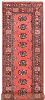 Indian Red Bokhara 2' 7 x 10' 8 - No. 45648 - ALRUG Rug Store