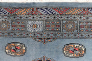 Light Slate Grey Bokhara 4' 1 x 6' 1 - No. 45797 - ALRUG Rug Store