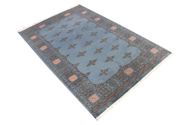 Light Slate Grey Butterfly 4' 1 x 6' 2 - No. 45812 - ALRUG Rug Store