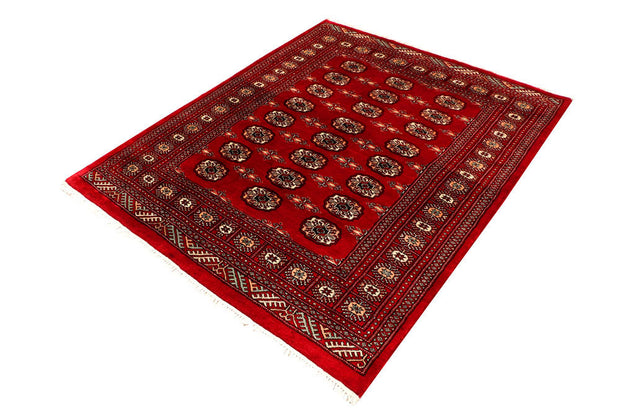 Dark Red Bokhara 4' 8 x 5' 9 - No. 45914 - ALRUG Rug Store
