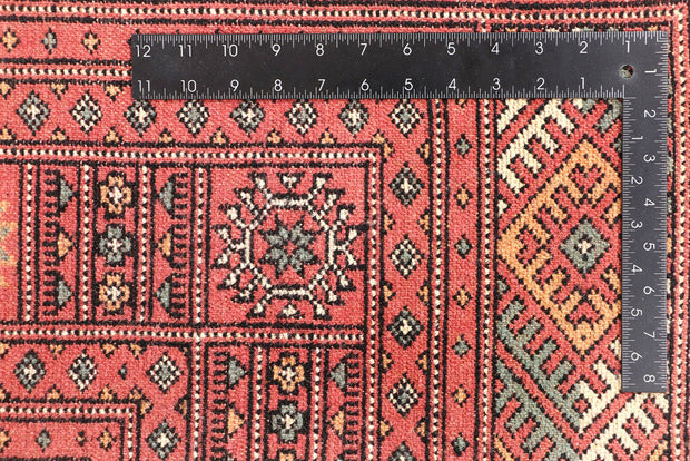 Light Coral Bokhara 5' 7 x 7' 8 - No. 45919 - ALRUG Rug Store