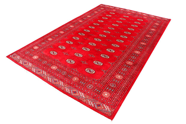 Dark Red Bokhara 6' 8 x 10' 3 - No. 46124 - ALRUG Rug Store
