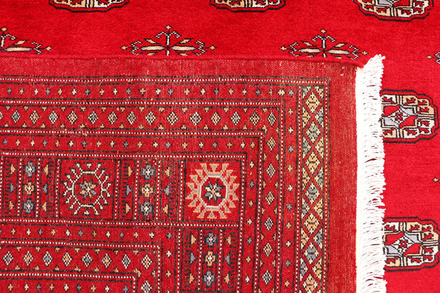 Dark Red Bokhara 6' 7 x 10' - No. 46128 - ALRUG Rug Store