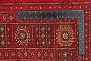 Dark Red Bokhara 6' 8 x 10' 7 - No. 46135 - ALRUG Rug Store