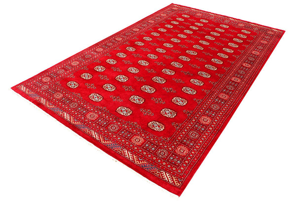 Dark Red Bokhara 6' 7 x 10' 4 - No. 46140 - ALRUG Rug Store
