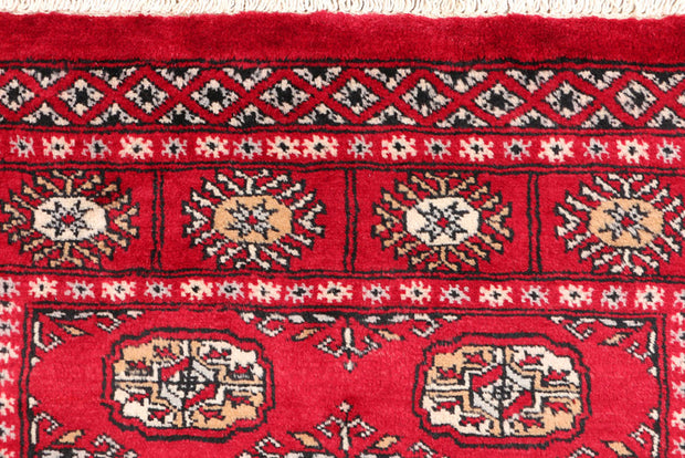 Dark Red Bokhara 3' 1 x 5' 1 - No. 46283 - ALRUG Rug Store