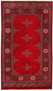 Dark Red Butterfly 2' 6 x 4' 4 - No. 46435 - ALRUG Rug Store