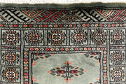 Dark Slate Grey Butterfly 2' 2 x 6' 5 - No. 46485 - ALRUG Rug Store