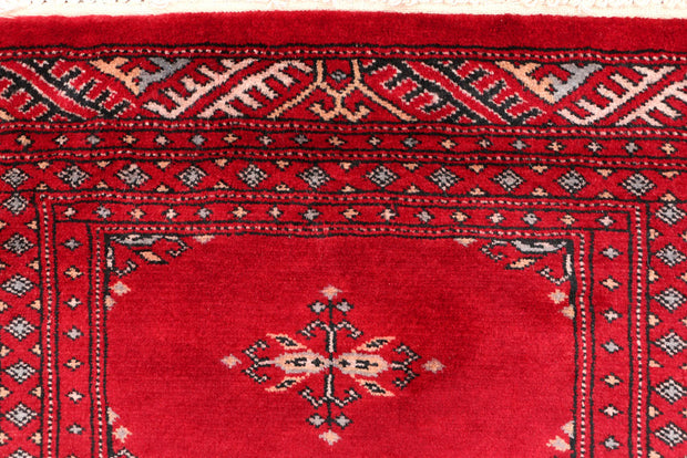 Dark Red Butterfly 2' x 6' 1 - No. 46490 - ALRUG Rug Store