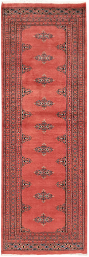 Indian Red Butterfly 2' x 6' - No. 46525 - ALRUG Rug Store