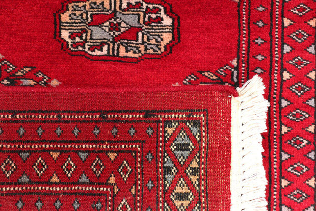 Dark Red Bokhara 2' x 6' - No. 46533 - ALRUG Rug Store