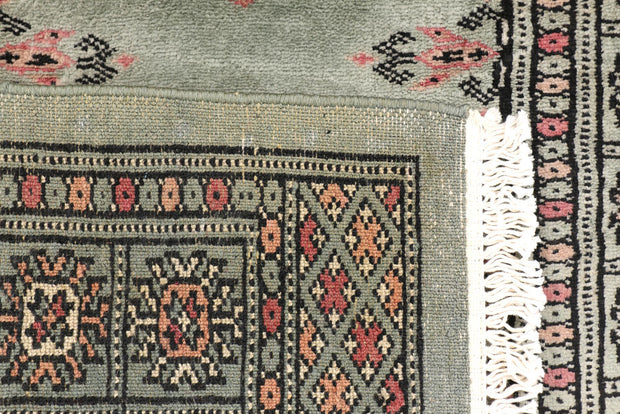 Dark Slate Grey Butterfly 2' 2 x 6' - No. 46534 - ALRUG Rug Store