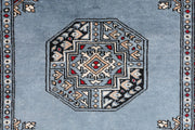 Light Slate Grey Fil Pa 2' 1 x 7' - No. 46552 - Alrug Rug Store