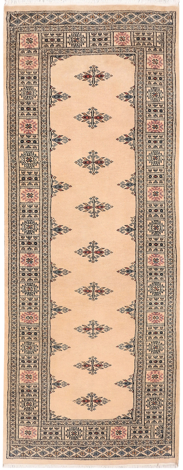 Bisque Butterfly 2' 7 x 6' 9 - No. 46578 - ALRUG Rug Store