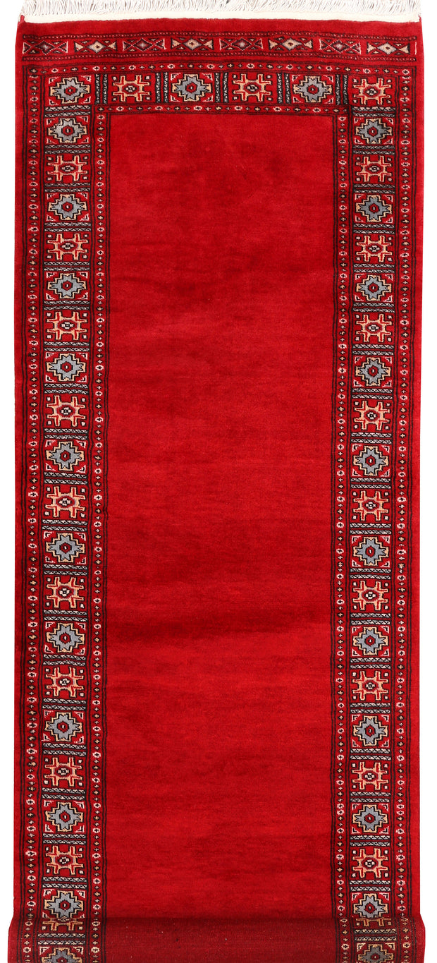 Dark Red Caucasian 2' 8 x 8' - No. 46706 - ALRUG Rug Store
