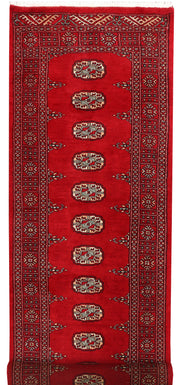 Dark Red Bokhara 2' 6 x 7' 10 - No. 46727 - ALRUG Rug Store