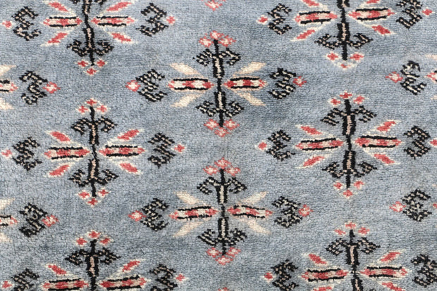 Light Slate Grey Butterfly 2' 6 x 8' 4 - No. 46765 - ALRUG Rug Store