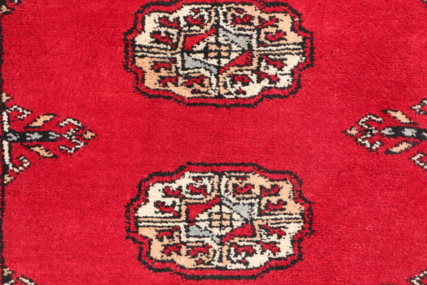 Dark Red Bokhara 2' 6 x 9' 7 - No. 46805 - ALRUG Rug Store