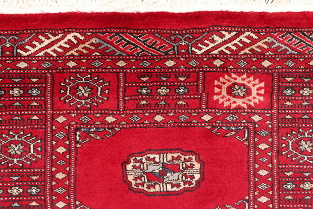 Dark Red Bokhara 2' 7 x 9' 7 - No. 46840 - ALRUG Rug Store