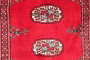 Dark Red Bokhara 2' 6 x 10' 5 - No. 46851 - ALRUG Rug Store