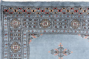 Light Slate Grey Butterfly 2' 7 x 11' 7 - No. 46857 - ALRUG Rug Store