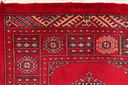 Dark Red Butterfly 2' 6 x 11' 9 - No. 46875 - ALRUG Rug Store