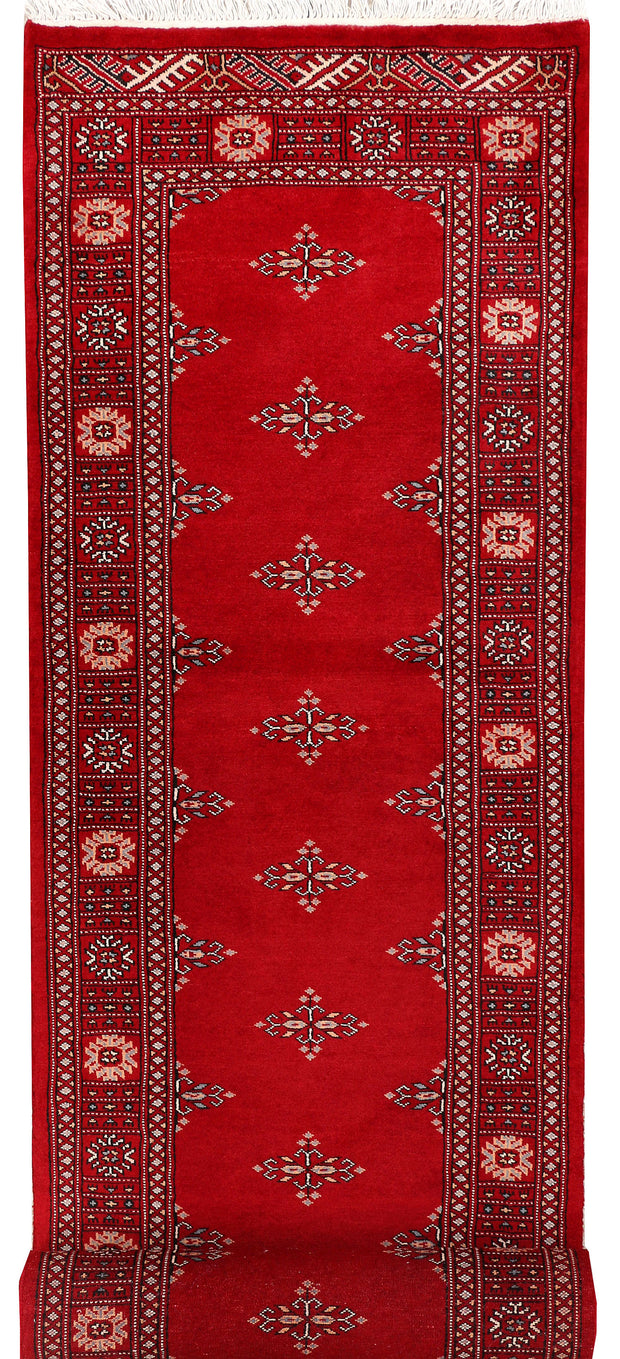 Dark Red Butterfly 2' 7 x 11' 9 - No. 46883 - ALRUG Rug Store