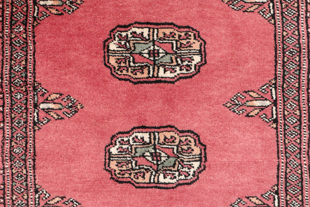 Indian Red Bokhara 2' 7 x 11' 1 - No. 46899 - ALRUG Rug Store