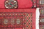 Indian Red Bokhara 2' 6 x 13' 1 - No. 46954 - ALRUG Rug Store