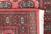 Indian Red Bokhara 2' 7 x 12' 1 - No. 46964 - ALRUG Rug Store