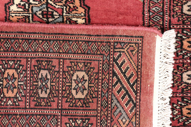 Indian Red Bokhara 2' 7 x 13' 9 - No. 47007 - ALRUG Rug Store