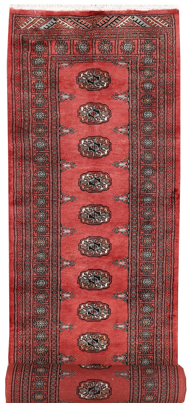 Indian Red Bokhara 2' 8 x 14' 5 - No. 47009 - ALRUG Rug Store