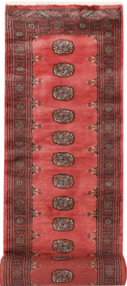 Indian Red Bokhara 2' 8 x 13' 9 - No. 47022 - ALRUG Rug Store