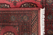Indian Red Bokhara 2' 7 x 13' 10 - No. 47024 - ALRUG Rug Store