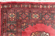 Indian Red Bokhara 2' 7 x 15' 6 - No. 47026 - ALRUG Rug Store
