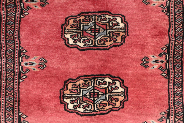 Indian Red Bokhara 2' 8 x 15' 1 - No. 47030 - ALRUG Rug Store