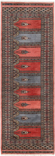 Multi Colored Prayer 2' 1 x 5' 11 - No. 47448 - ALRUG Rug Store