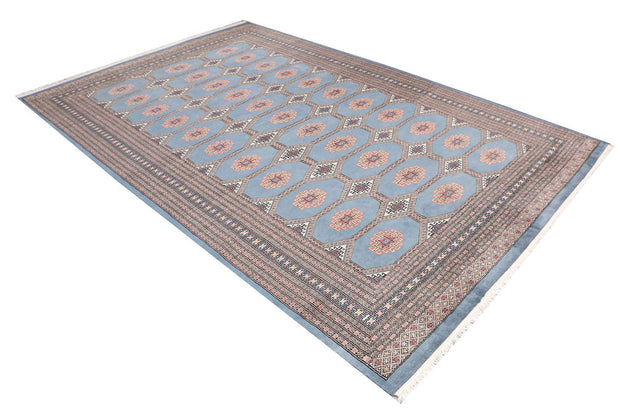 Light Slate Grey Jaldar 6' 7 x 9' 11 - No. 47706 - ALRUG Rug Store
