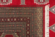 Dark Red Jaldar 6' 7 x 10' 1 - No. 47732 - ALRUG Rug Store