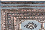 Light Slate Grey Jaldar 6' 6 x 10' 3 - No. 47738 - ALRUG Rug Store