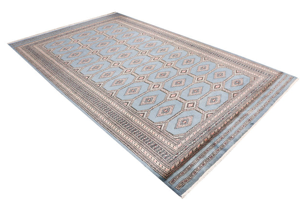 Light Slate Grey Jaldar 6' 7 x 10' 9 - No. 47753 - ALRUG Rug Store