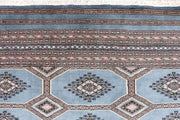 Light Slate Grey Jaldar 6' 8 x 9' 8 - No. 47760 - ALRUG Rug Store
