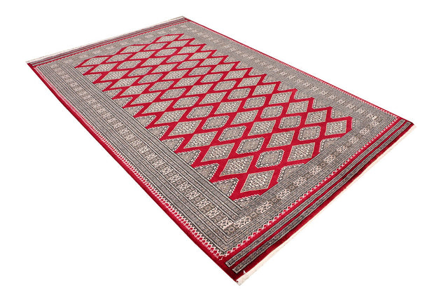 Dark Red Jaldar 5' 7 x 8' 3 - No. 47787 - ALRUG Rug Store