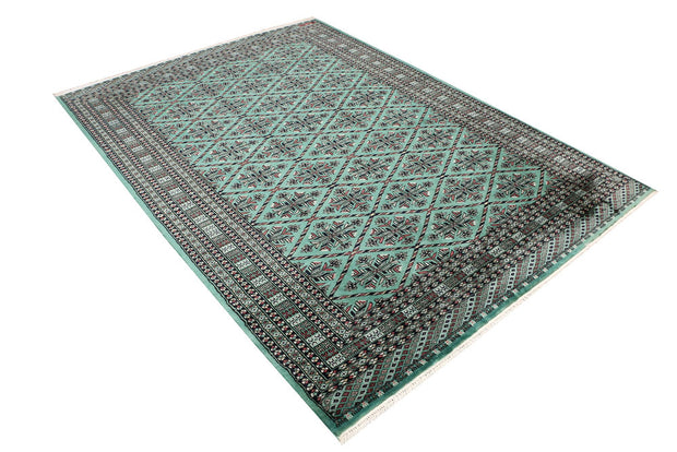 Sea Green Butterfly 5' 9 x 7' 11 - No. 47789 - ALRUG Rug Store