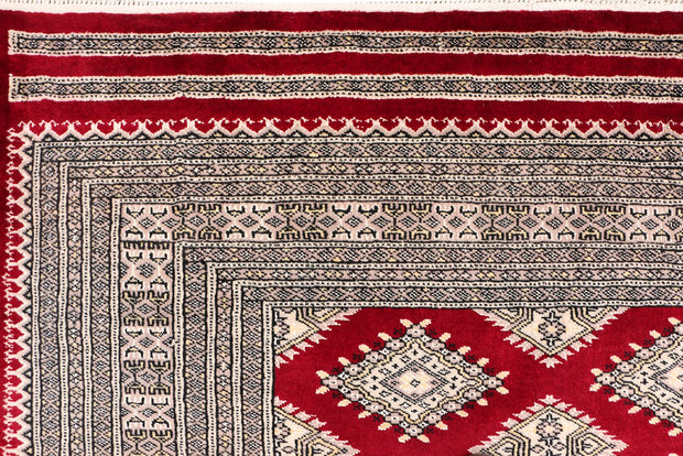 Dark Red Jaldar 5' 8 x 7' 11 - No. 47802 - ALRUG Rug Store