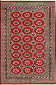 Dark Red Jaldar 5' 5 x 8' 2 - No. 47877 - ALRUG Rug Store